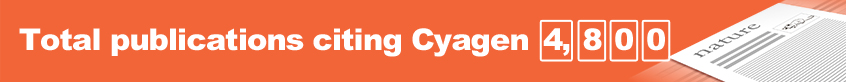 Total publications citing Cyagen: 4,800