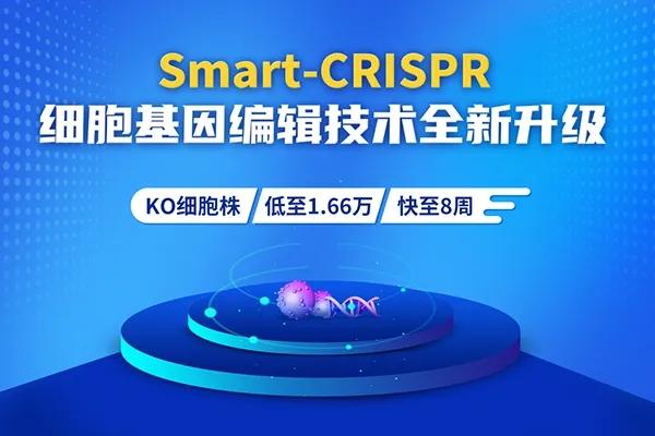 Smart-CRISPR细胞基因编辑技术,快至8周,低至1.66万!