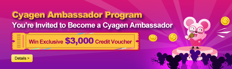 Cyagen Ambassador Awards