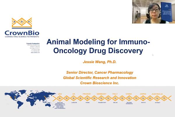 赛业生物合作伙伴CrownBio的Jessie Wang博士聚焦肿瘤学不同动物模型的当前发展,为大家介绍了免疫治疗相关的肿瘤动物模型以及人源化小鼠模型