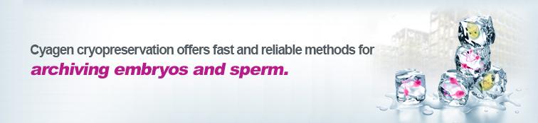 Cyagen Mouse Sperm & Embryo Cryopreservation Services