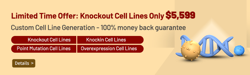 Limited Time Offer: Knockout Cell Lines Only $5,599