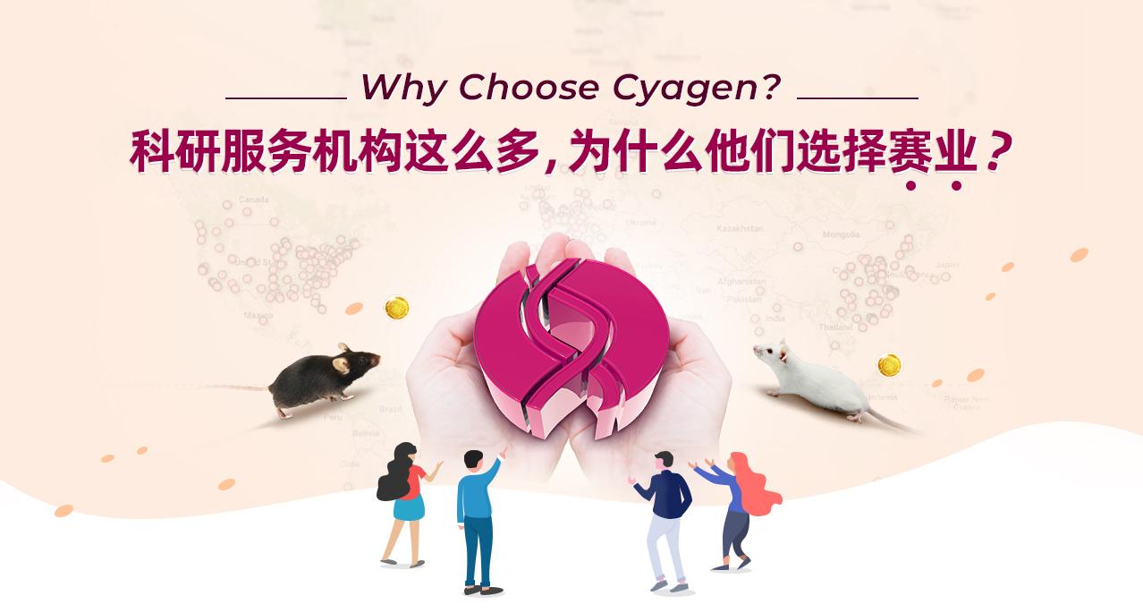 Why Choose Cyagen?科研服务机构这么多,为什么他们选择赛业?